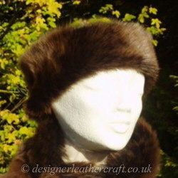 Shaped Toscana Shearling Ski Headbands