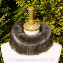 Grey Wolf Toscana Shearling Headband H5